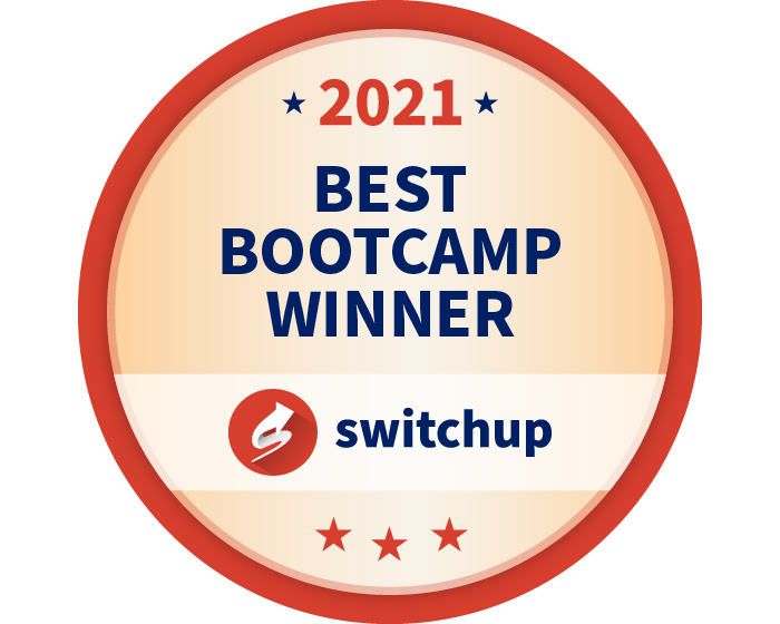 SwitchUp Best Bootcamp Winner 2021
